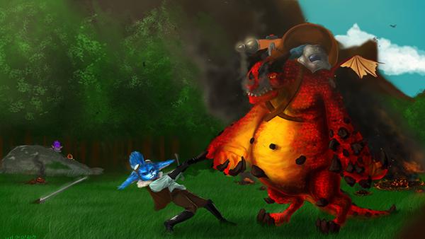 dragon_trainer_rumble_fanart_by_kacpermadart-d9r9abv
