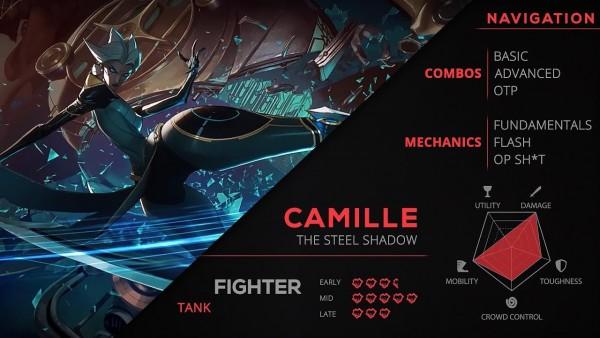Tổng hợp TẤT CẢ những combo bạn cần biết về Camille